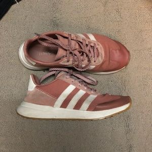 Mauve adidas flashback shoes 6.5